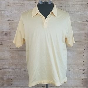 Brooks Brothers Performance Knit Yellow Polo